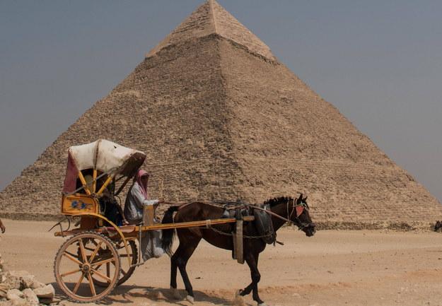 Wbrew stereotypom niewolnicy nie wznieśli piramid /PHOTOSHOT/Meng Tao /PAP/EPA