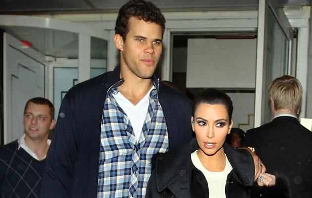 Wcale nie tak dawno Kim i Kris byli bardzo szczęśliwi...  /Splashnews