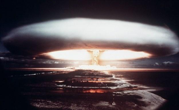 Wciąż istnieje ryzyko wojny jądrowej /AFP