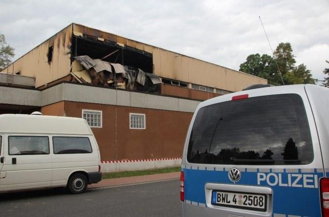 Wcześniej dochodziło już w Niemczech do podpaleń obiektów dla uchodźców /PAP/EPA