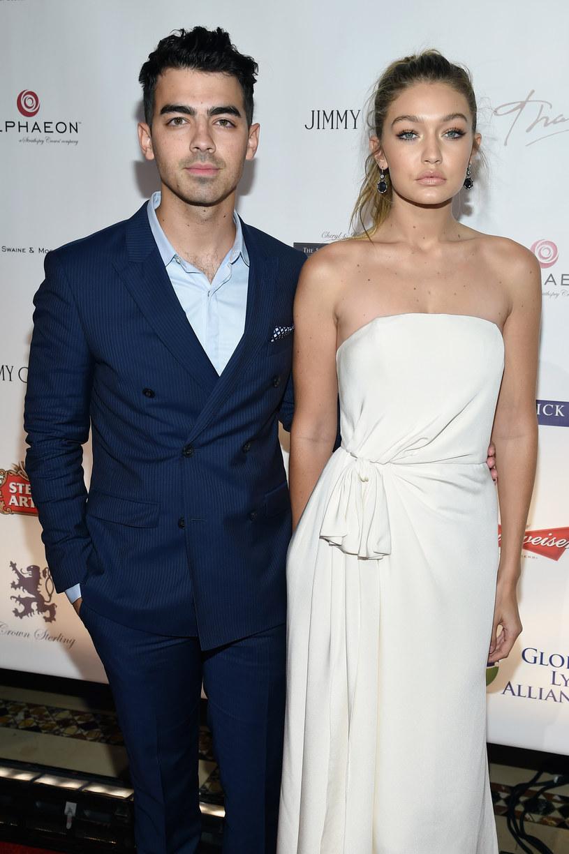 Wcześniej Gigi Hadid była związana z Joe Jonasem /Dimitrios Kambouris /Getty Images