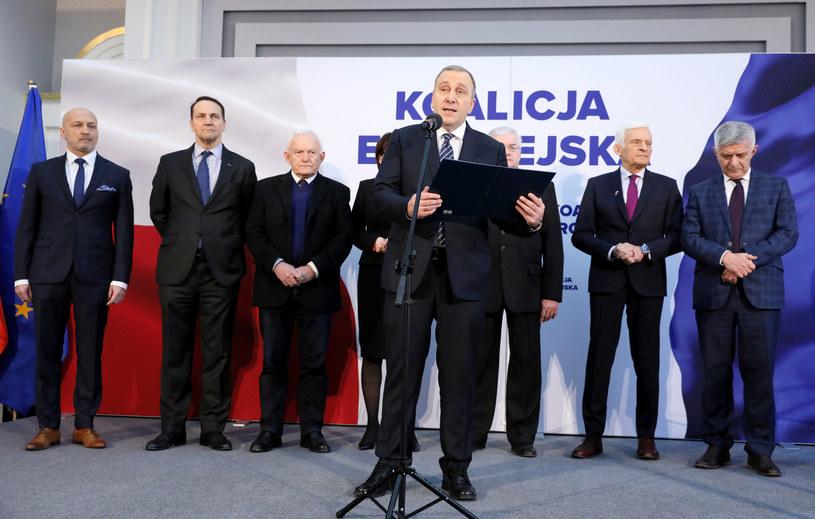 Wcześniej o dołączeniu do Koalicji Europejskiej poinformował w imieniu SLD Włodzimierz Czarzasty /Piotr Molecki /East News
