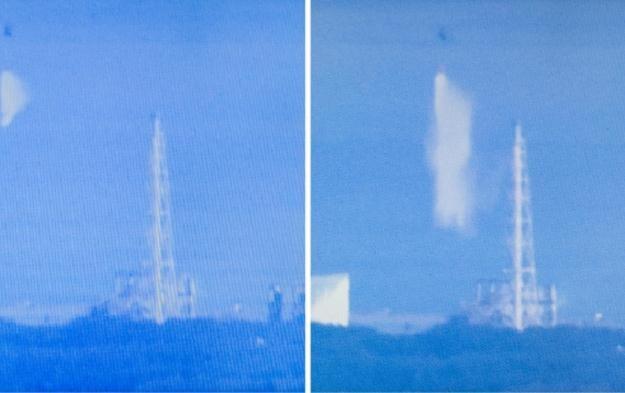 Wcześniej śmigłowce schładzały reaktor wodą morską /AFP