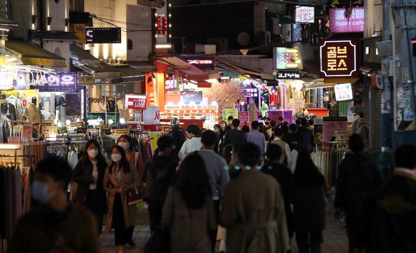Wcześniejszy spadek liczby zakażeń skłonił koreańskie władze do poluzowania części restrykcji /YONHAP   /PAP/EPA