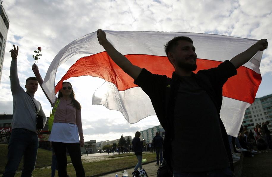 Wczorajsze protesty na Białorusi /TATYANA ZENKOVICH  /PAP/EPA