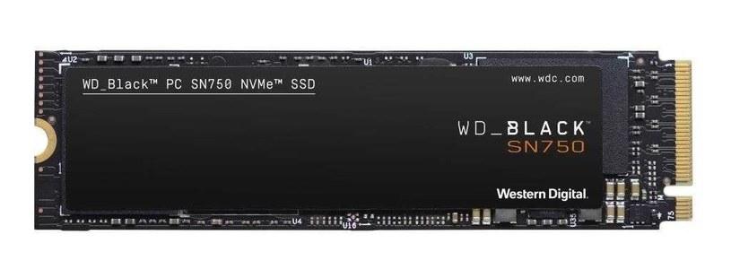 WD Black SN750 1TB /materiały prasowe