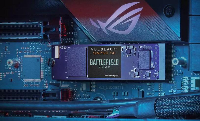 WD_Black SN750 SE NVMe SSD Battlefield 2042 /materiały prasowe