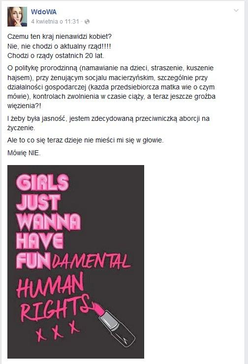 WdoWA na Facebooku /