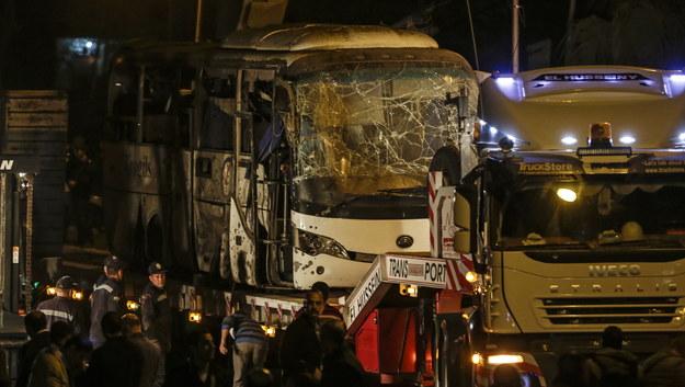 We wczorajszym zamachu zginęły 4 osoby /MOHAMED HOSSAM /PAP/EPA