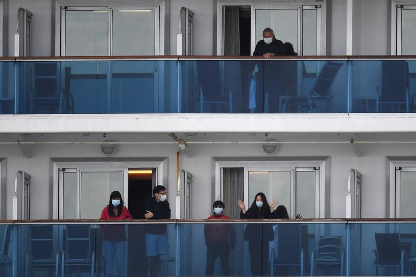 We Władywostoku przechodzi kwarantannę siedem osób, które były pasażerami wycieczkowca Diamond Princess /AFP