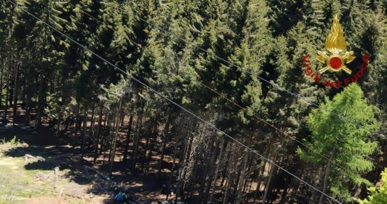 We Włoszech runęła kolejka górska. Są ofiary śmiertelne