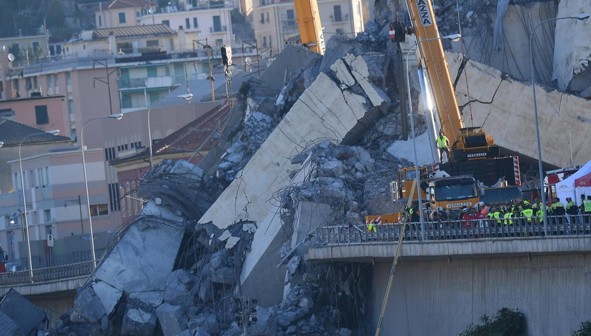 We Włoszech w Genui zawalił się wiadukt. Zginęło co najmniej 37 osób
