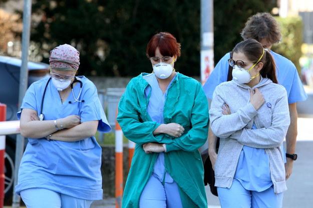 We Włoszech z powodu koronawirusa umarły dwie osoby /NICOLA FOSSELLA /PAP/EPA