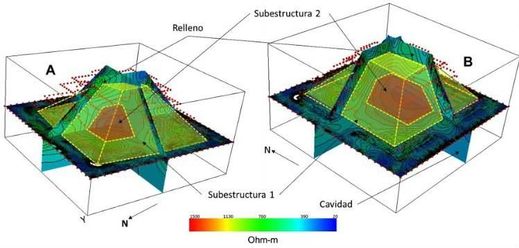 We wnętrzu Piramidy Kukulkana znajdują się co najmniej dwie mniejsze /materiały prasowe