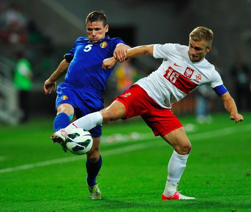 We Wrocławiu Polacy wygrali z Mołdawią 2-0 /AFP