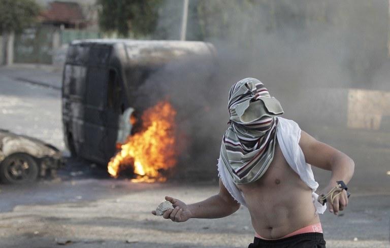 We wschodniej, palestyńskiej części Jerozolimy dochodzi do zamieszek /AFP
