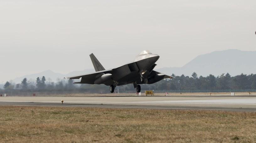We wspólnych manewrach uczestniczy ponad 230 samolotów /EPA/US 7TH AIR FORCE, KOREA /PAP/EPA