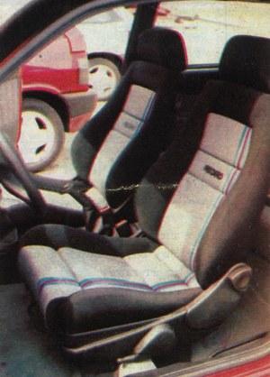 We wszystkich wersjach znajdują się obecnie wygodniejsze siedzenia, a odmiany usportowione wyposażane są w fotele firmy Recaro. (kliknij, żeby powiększyć) /Motor