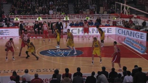 We wtorek koszykarze Asseco Prokom Gdynia przegrali w Pireusie z Olympiakosem 79:83  /Wojciech Jankowski /RMF FM