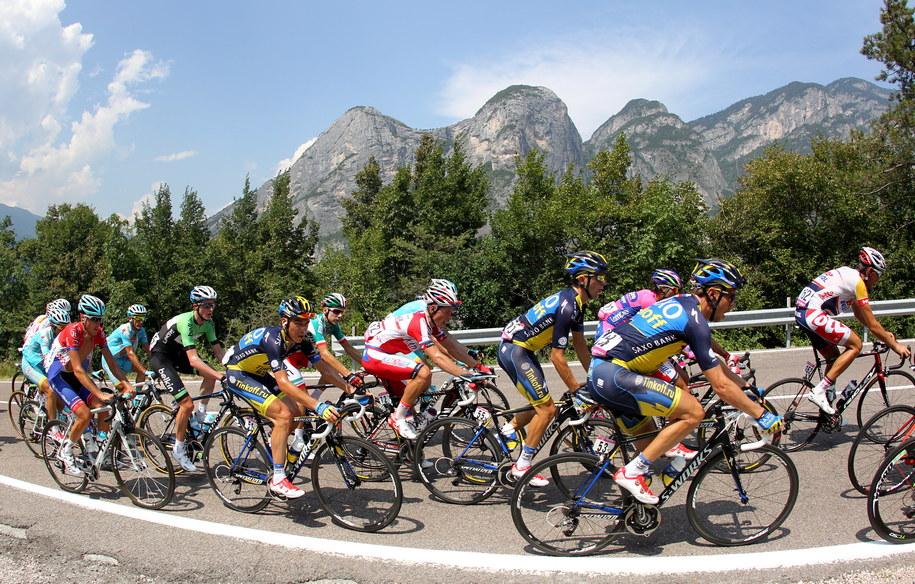 We wtorek rozpocznie się III etap Tour de Pologne /Grzegorz Momot /PAP/EPA