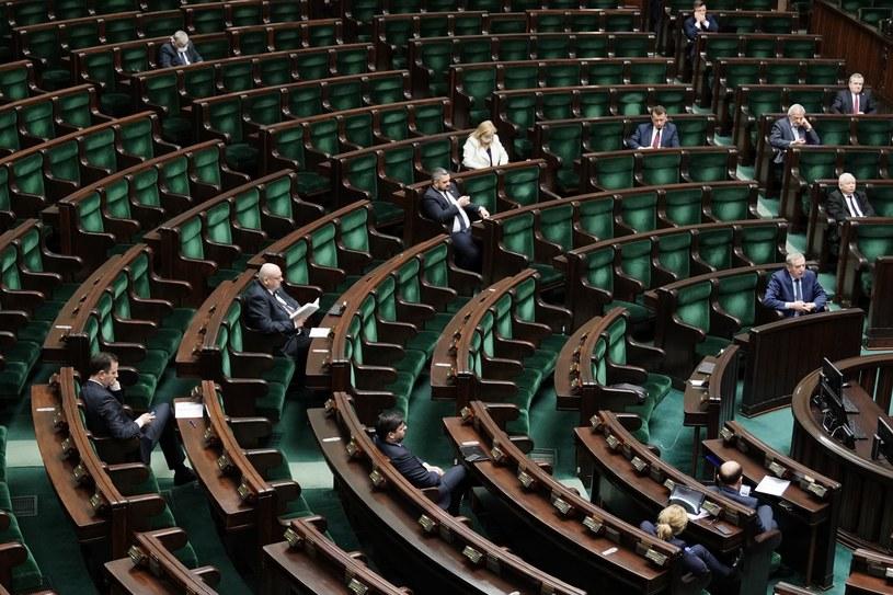 We wtorek Sejm zdecyduje, czy zająć się projektem klubu PiS ws. wyborów prezydenckich /Mateusz Wlodarczyk /Agencja FORUM