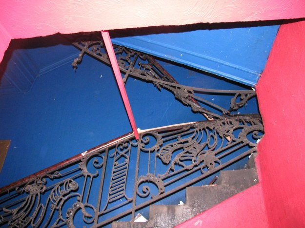 Według architekta Pawła Malusa, schody w kamienicy przy Wielopolu nie były odpowiednio przystosowane  /Maciej Grzyb /RMF FM