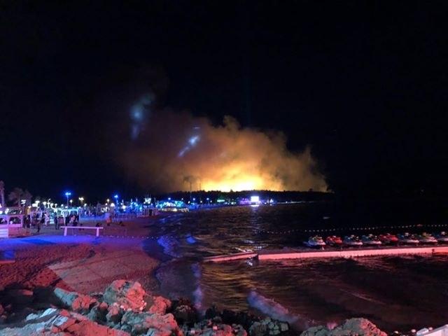 Według chorwackich służb w pożarze nikt nie ucierpiał /Karolina Górny /Gorąca Linia RMF FM