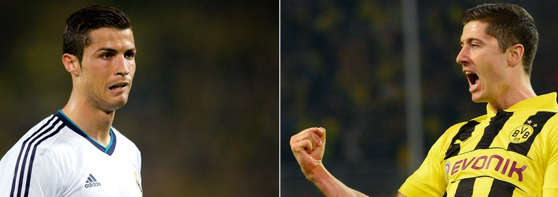 Według ekspertów tylko Cristiano Ronaldo dorównuje, bądź przewyższa Roberta Lewandowskiego, a reszta piłkarzy Realu jest od niego gorsza. /AFP