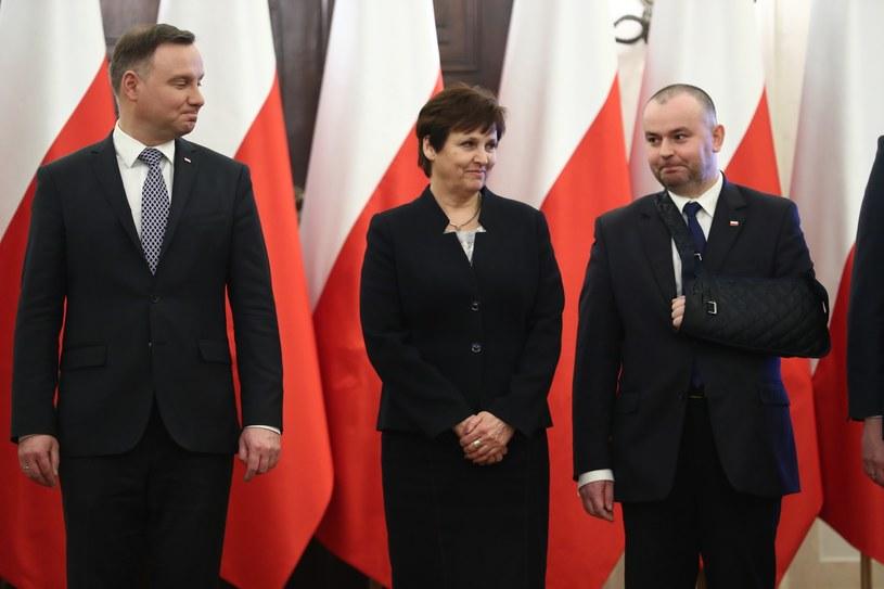 """Według """"Faktu"""" Halina Szymańska skonfliktowana jest m.in. z Pawłem Muchą /Andrzej Iwańczuk /Reporter"""