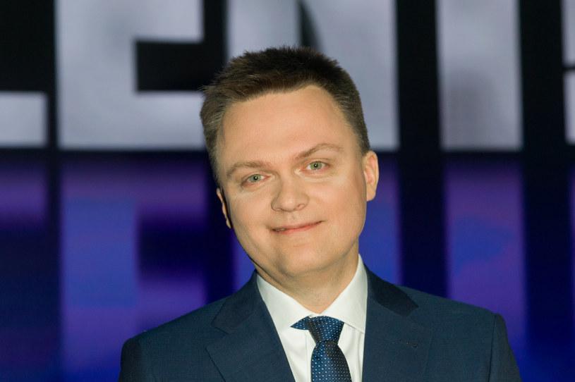 """Według Jacka Sasina kandydatura Szymona Hołowni """"szans ostatecznie nie ma"""" /Artur Zawadzki /Reporter"""