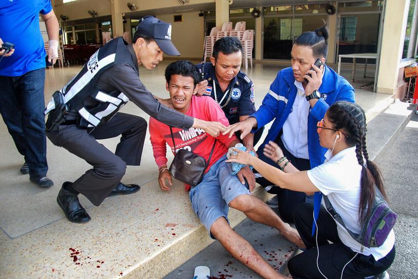 Według komentatorów za zamachami stoją przeciwnicy rządzącej junty /AFP