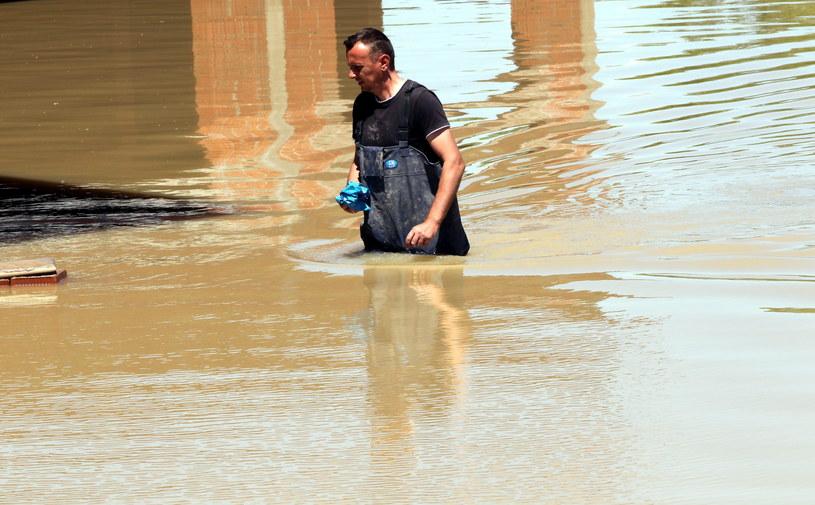 Według meteorologów to największa powódź w tym rejonie Bałkanów od 120 lat. /PAP/EPA