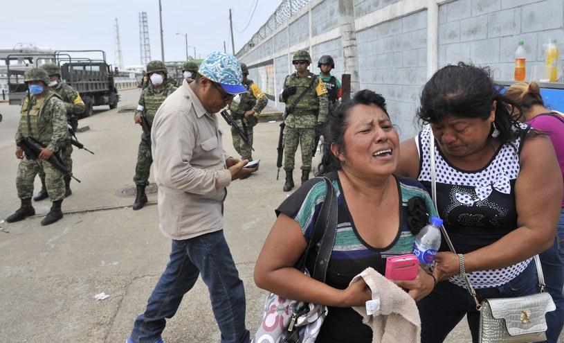 Według najnowszych danych 136 osób zostało rannych /Yuri CORTEZ / AFP /AFP