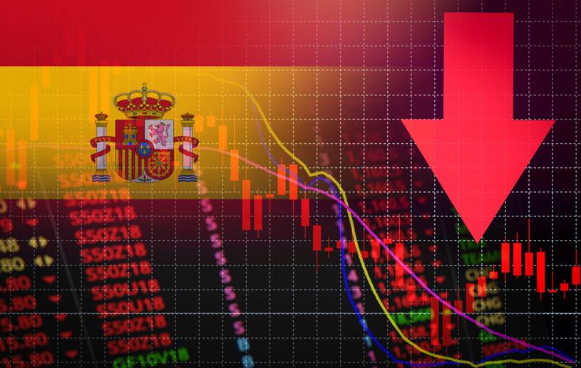 Według oceny banku centralnego Hiszpanii (BdE) w najbliższych miesiącach PKB ma sukcesywnie spadać /123RF/PICSEL
