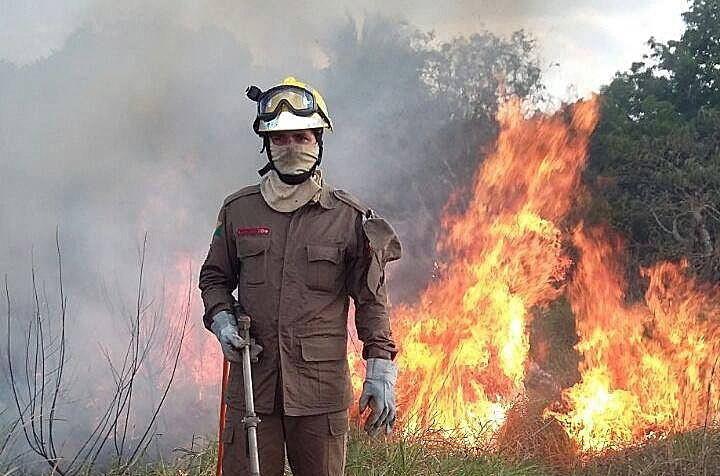 Według oficjalnych danych pożary na obszarze Amazonii są w tym roku większe o 83 proc. w porównaniu z takim samym okresem w 2018 roku /Firefighters Acre  /PAP/EPA
