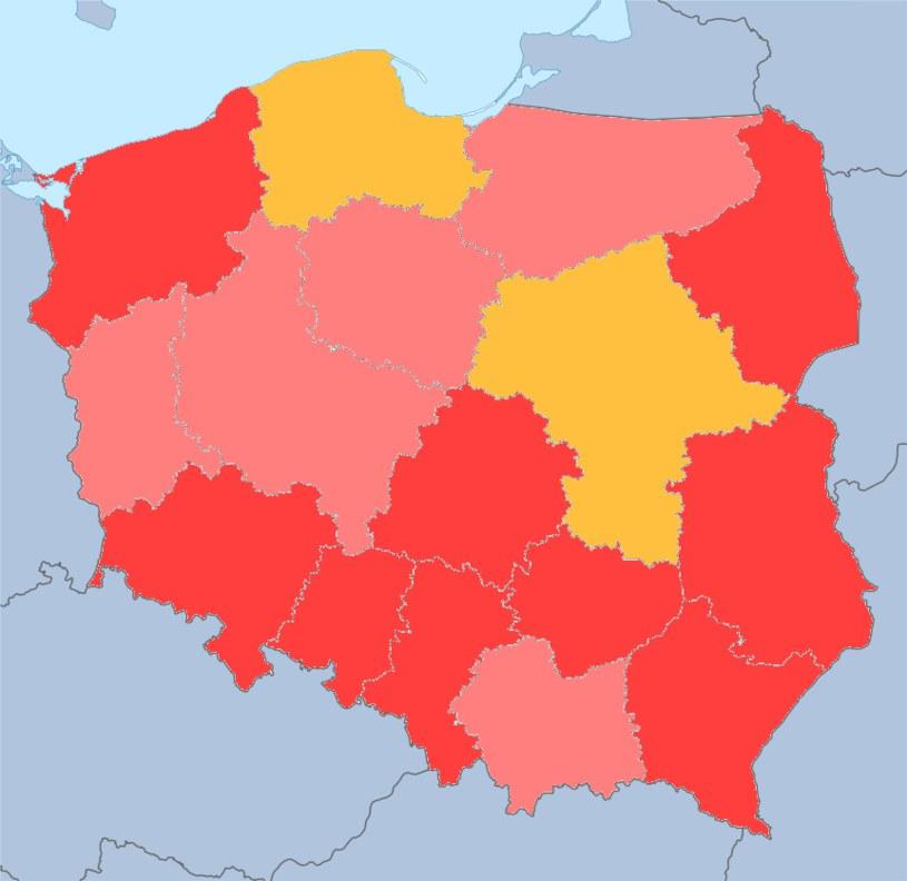 Według ostatnich danych w ponad połowie województw w Polsce współczynnik dzietności wynosi 1,3. Wartość zapewniająca prostą zastępowalność pokoleń do 2,1 - 2,15 /Wikimedia Commons /domena publiczna