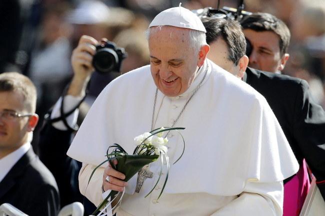 Według papieża Franciszka kara śmierci jest nie do przyjęcia, a dożywocie jest niedopuszczalne. /Fabio Frustaci /PAP/EPA