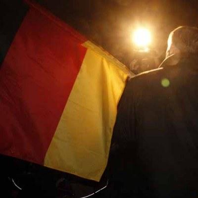 Według prognozy instytutów ekonomicznych PKB Niemiec wzrośnie w 2010 roku o 1,5 proc. /AFP