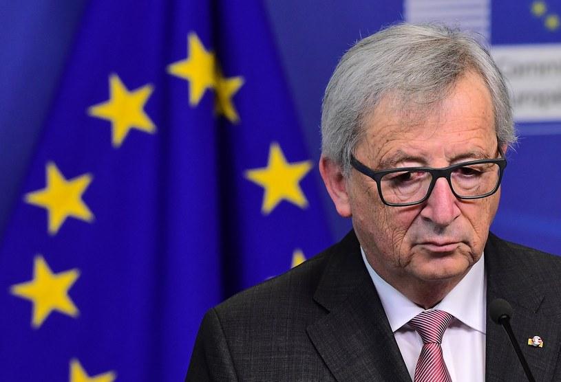 """Według przewodniczącego Komisji Europejskiej Jean-Claude'a Junckera Wspólnota ma zbyt """"małe ambicje"""" /EMMANUEL DUNAND /AFP"""