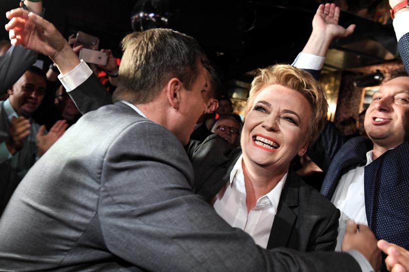Według sondażu Hanna Zdanowska zdobyła w Łodzi ponad 70 proc. głosów /Grzegorz Michałowski   /PAP