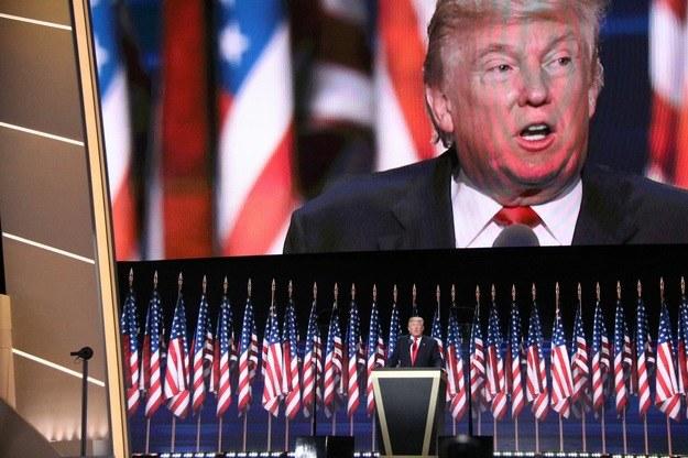 """Według sondażu telewizji ABC News i """"Washington Post"""", gdyby wybory odbyły się dziś, na Clinton głosowałoby 45 procent Amerykanów, a na Trumpa 46 procent /Paweł Żuchowski /Archiwum RMF FM"""
