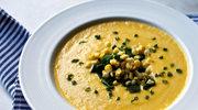 Wegańska zupa z kukurydzy