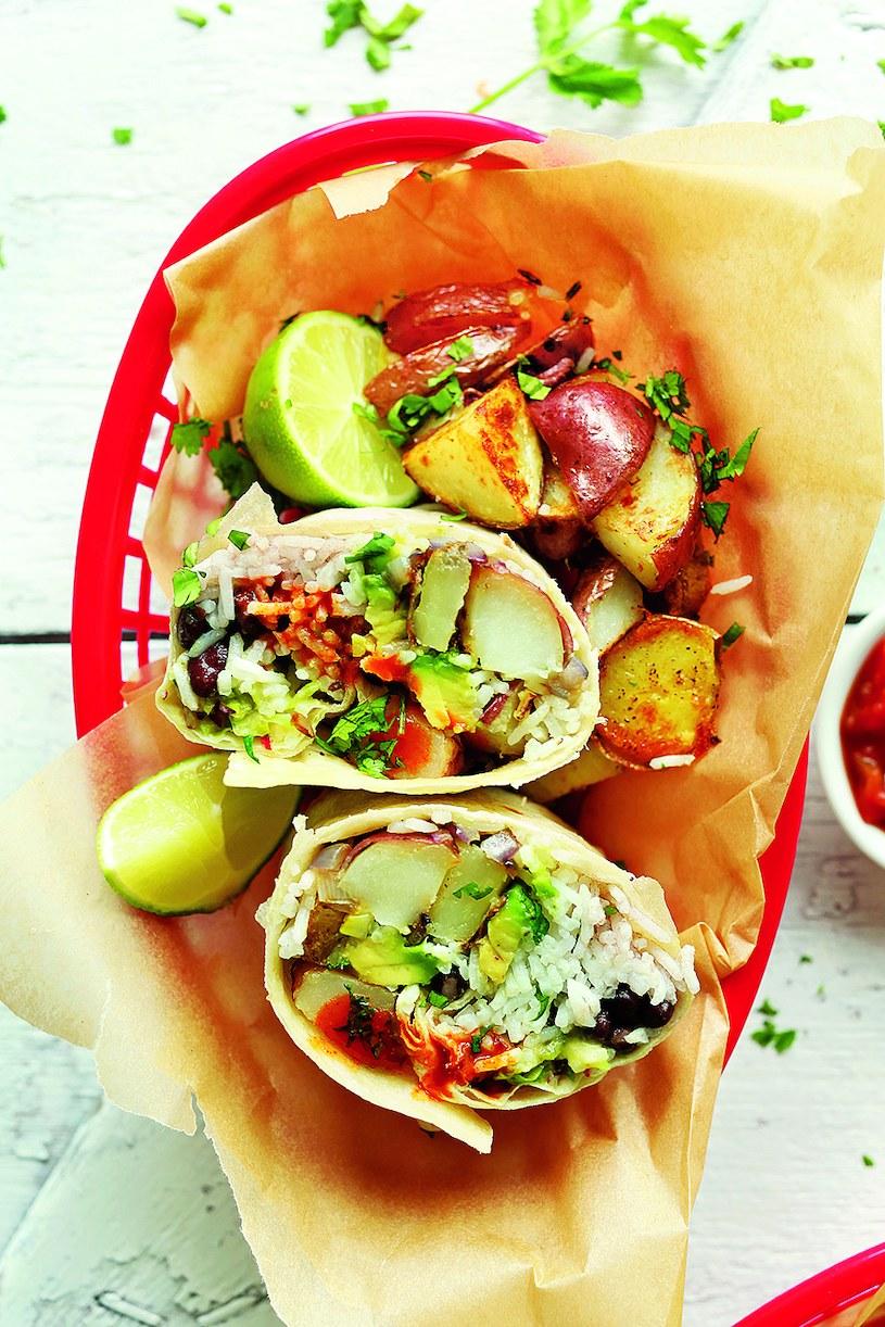 Wegańskie burrito /materiały prasowe