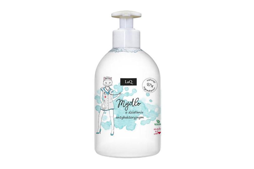 Wegańskie mydło o działaniu antybakteryjnym LaQ /materiały prasowe