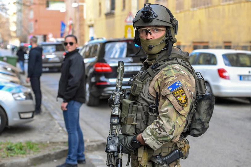 Węgierscy antyterroryści; zdj. ilustracyjne /AFP