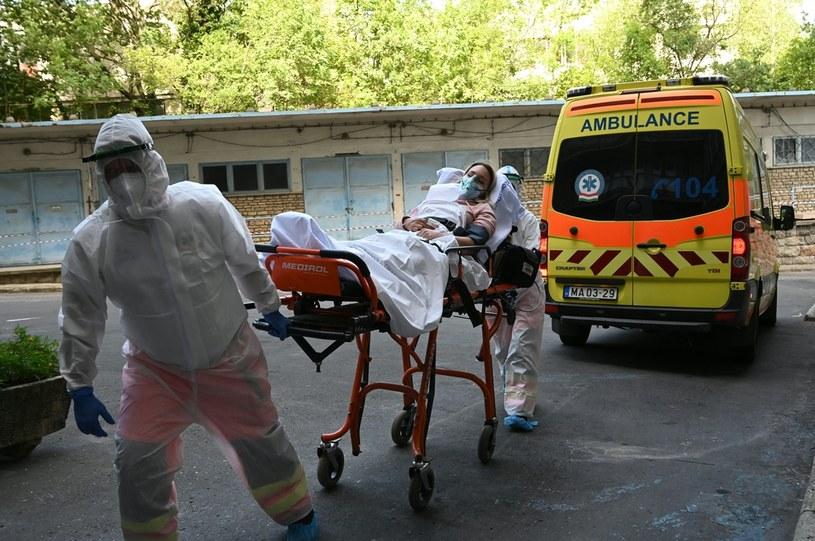 Węgierska służba zdrowia; zdj. ilustracyjne /AFP