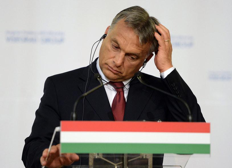 Węgierski premier Viktor Orban. /AFP