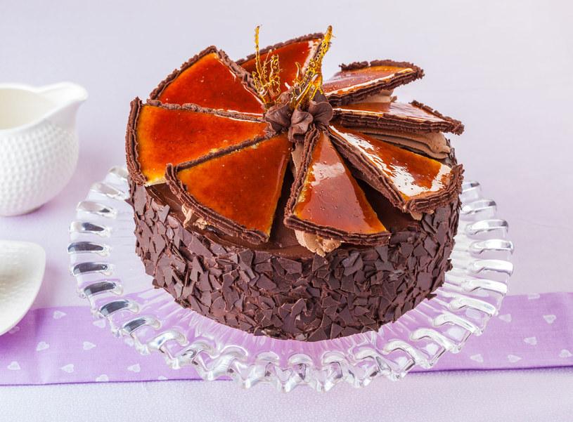 Węgierski tort Dobosza /123RF/PICSEL
