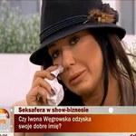 Węgrowska popłakała się na wizji!