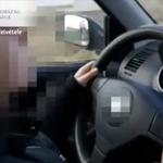 Węgry: 10-latka za kierownicą samochodu. Nagrywał ją ojciec